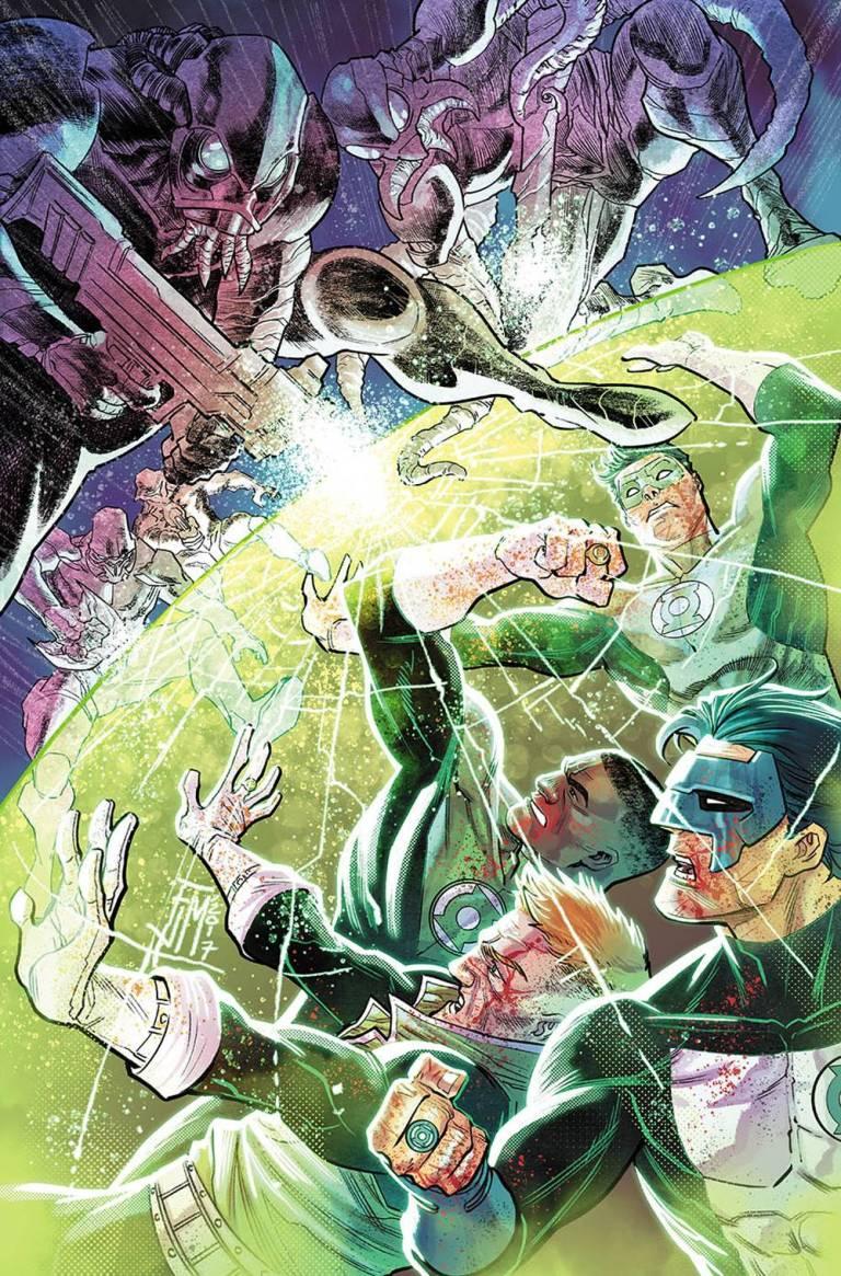 Hal Jordan And The Green Lantern Corps #35 (Cover A Francis Manapul)