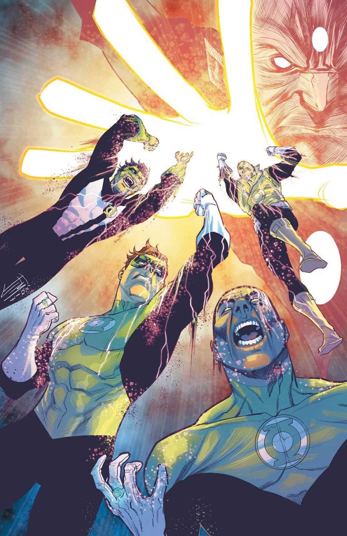 Hal Jordan And The Green Lantern Corps #36 (Cover A Francis Manapul)