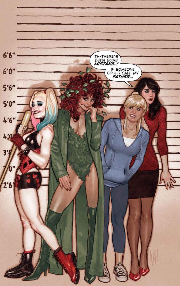 Harley And Ivy Meet Betty And Veronica #1 (Cover B Adam Hughes)