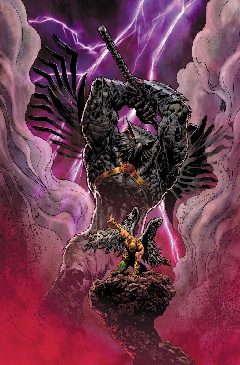 Hawkman Found #1 (Cover A Liam Sharp)