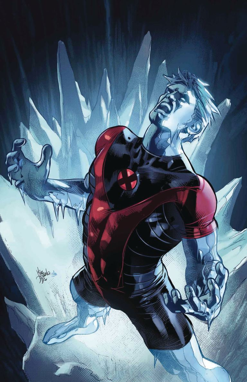 Iceman #8 (Mike Deodato Jr. Cover)