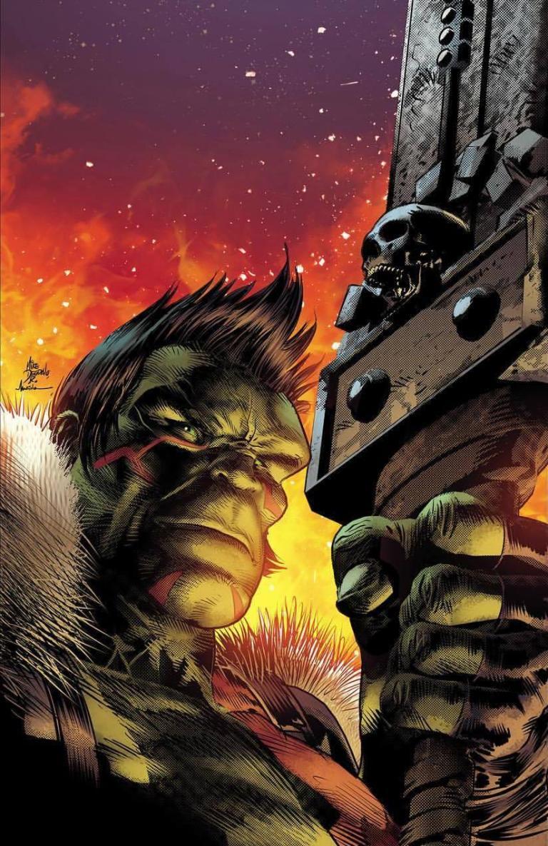 Incredible Hulk #709 (Cover B Mike Deodato Jr. Lenticular Homage Variant)
