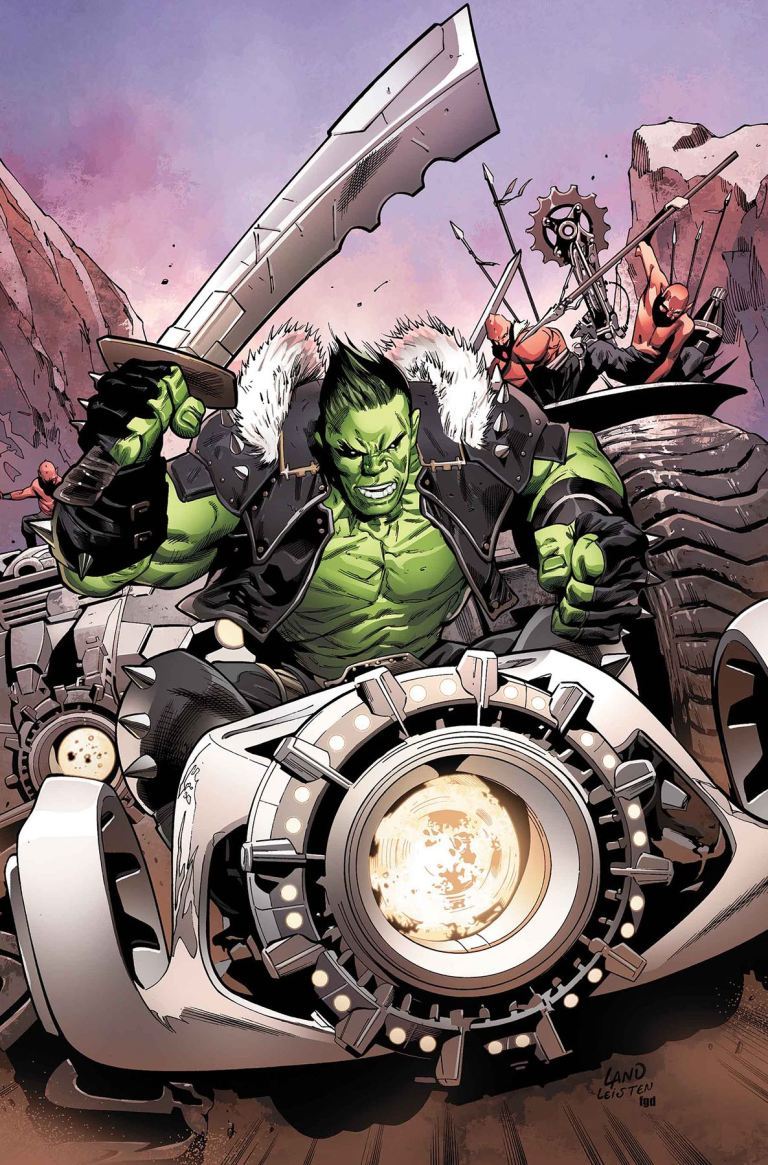 Incredible Hulk #710 (Cover A Greg Land)