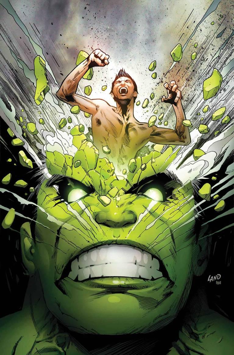 Incredible Hulk #711 (Cover A Greg Land)