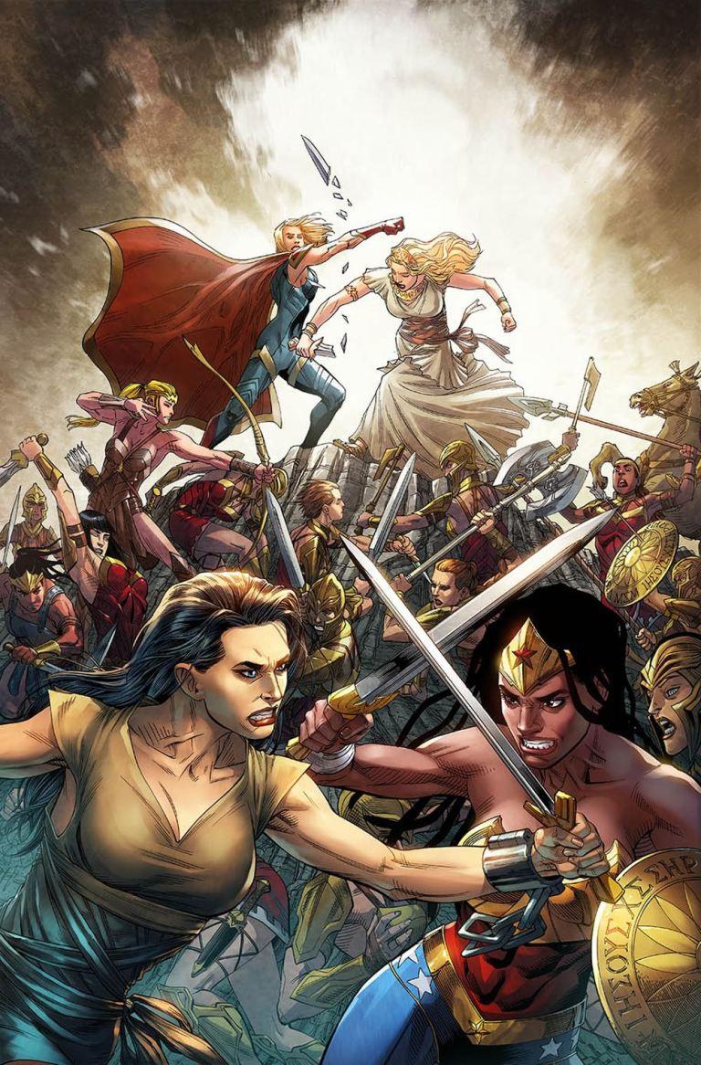 Injustice 2 #16 (Juan Albarran & Bruno Redondo Cover)
