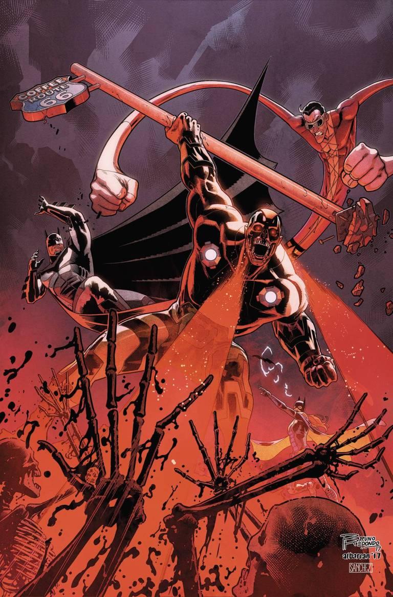 Injustice 2 #17 (Juan Albarran Cover)