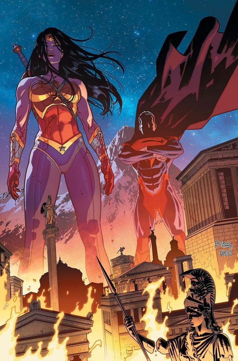Injustice 2 Annual #1 (Juan Albarran & Bruno Redondo Cover)