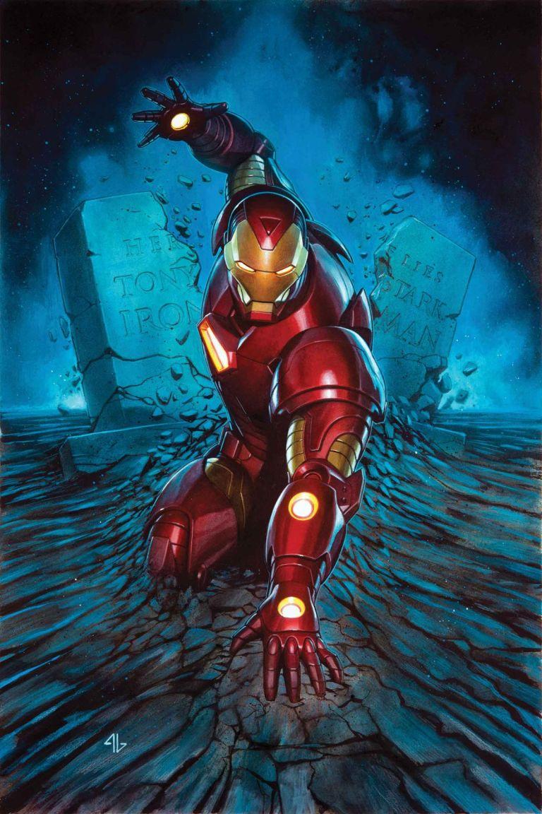 Invincible Iron Man #593 (Cover A Adi Granov)