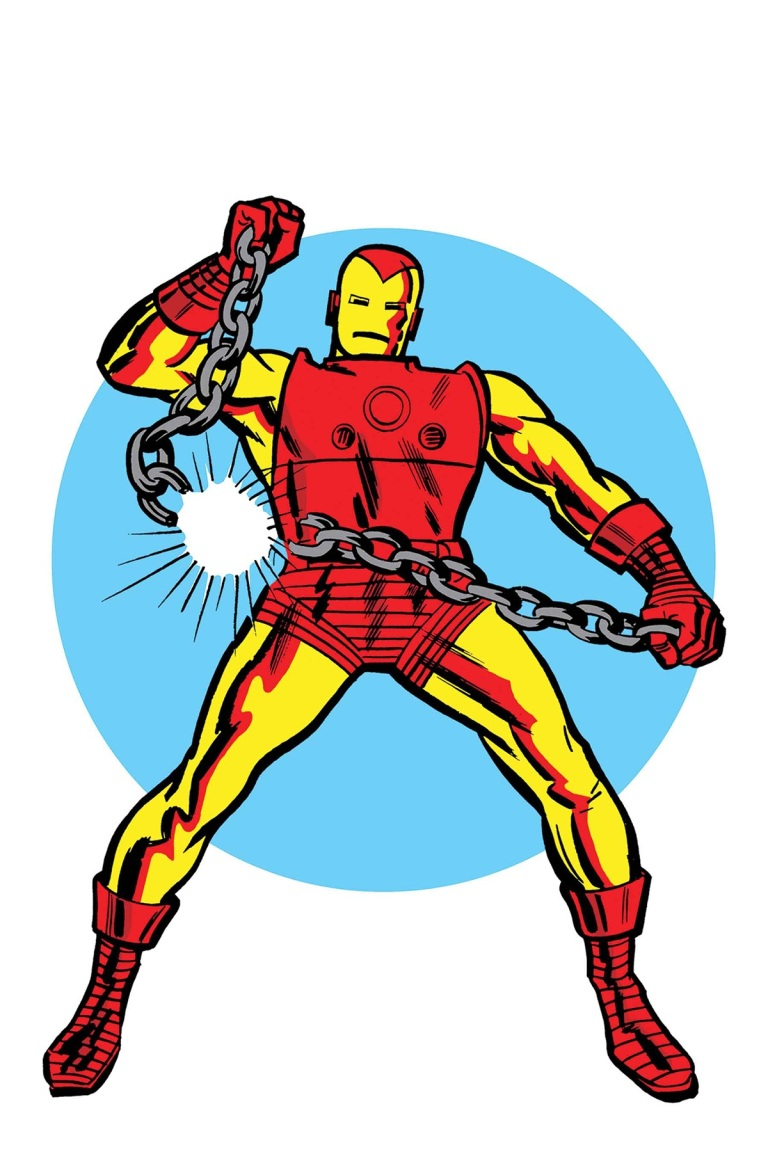 Invincible Iron Man #593 (Cover E Jack Kirby 1965 T-Shirt Variant)