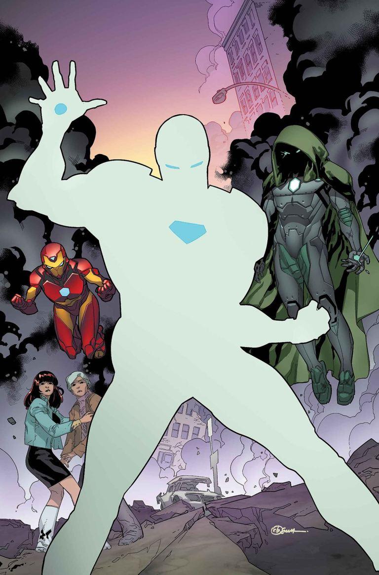 Invincible Iron Man #594 (R.B. Silva Cover)