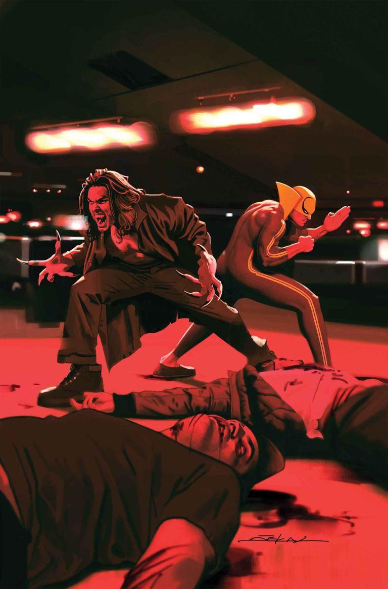 Iron Fist #74 (Jeff Dekal Cover)