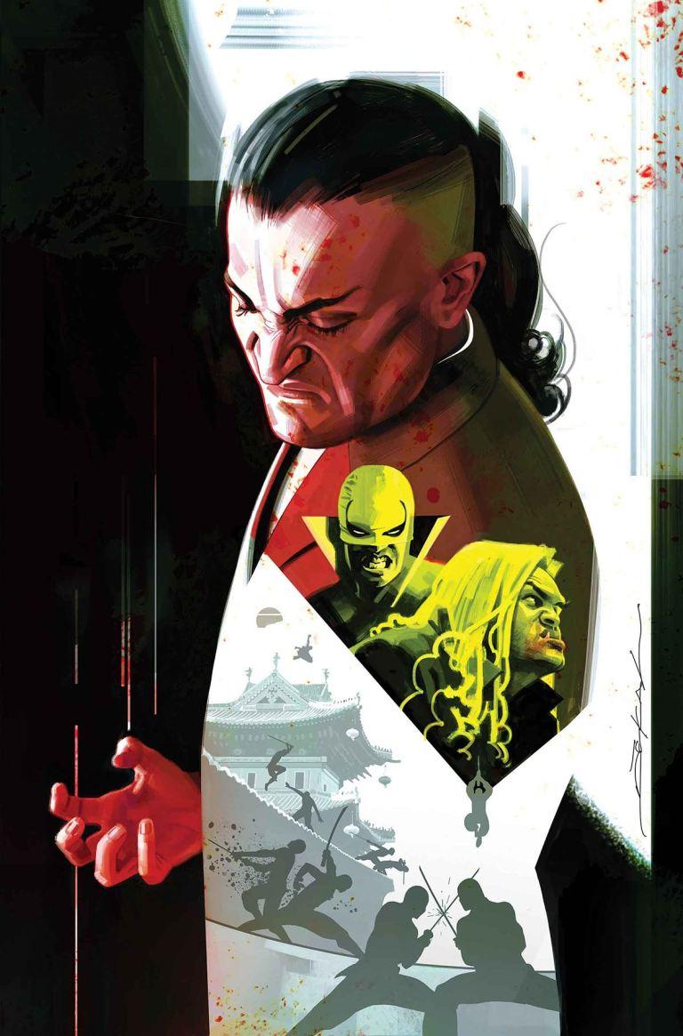 Iron Fist #76 (Jeff Dekal Cover)