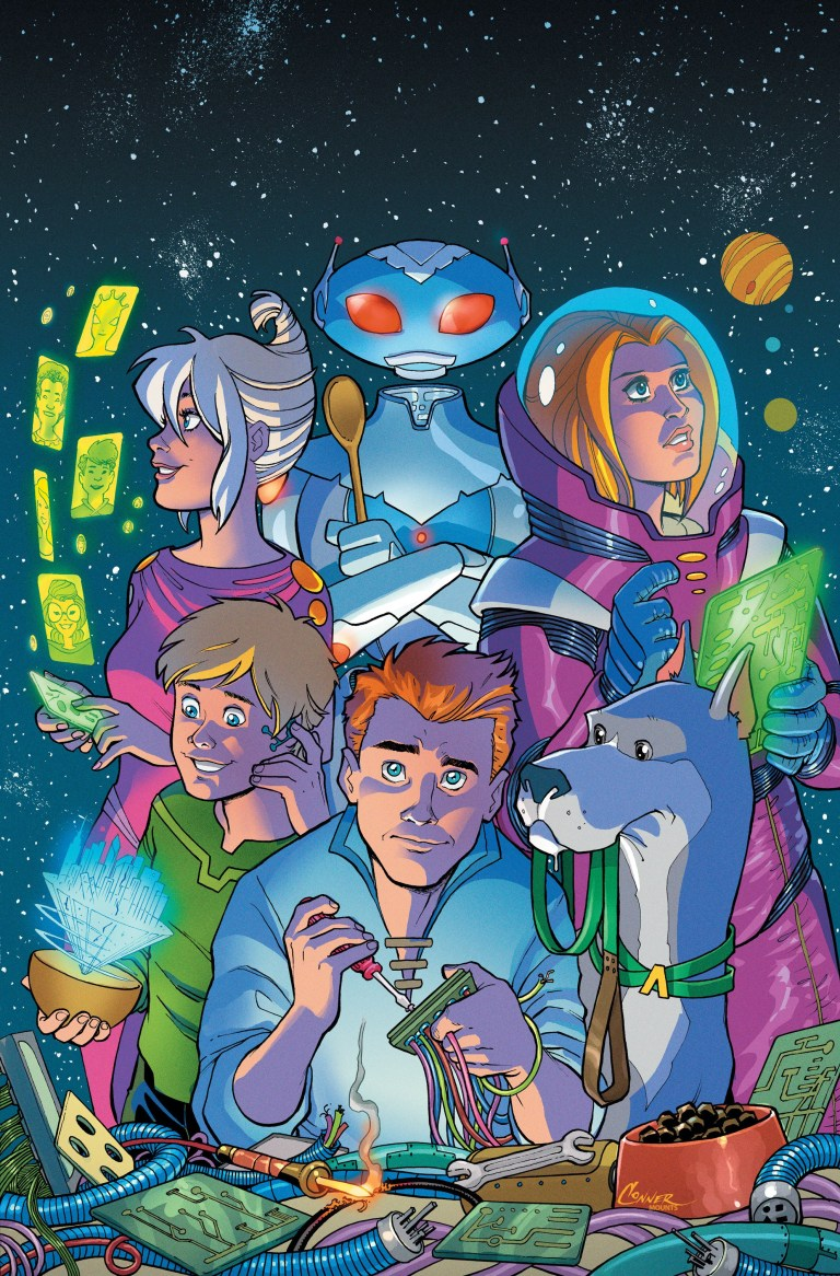 Jetsons #1 (Cover A Amanda Conner)