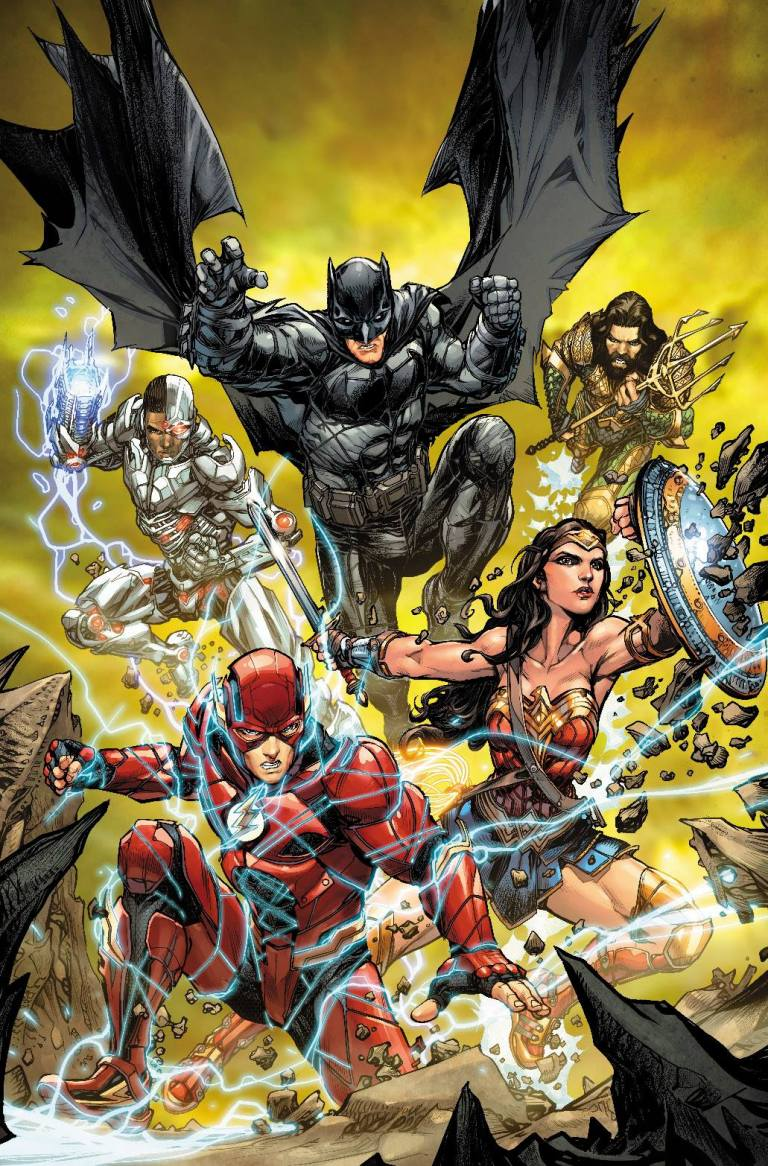 Justice League #32 (Cover B Howard Porter Justice League Variant)