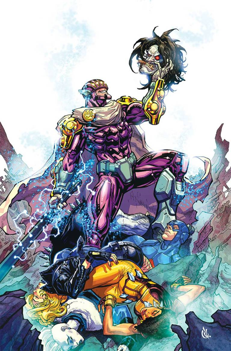Justice League Of America #20 (Cover A Carlos D'Anda)