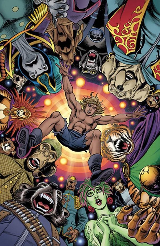 Kamandi Challenge #12 (Cover C Jose Luis Garcia-Lopez)