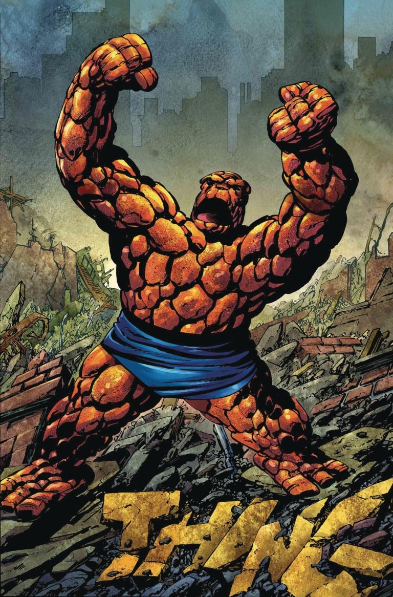 Marvel Two-In-One #1 (Cover E John Byrne Remastered Variant)