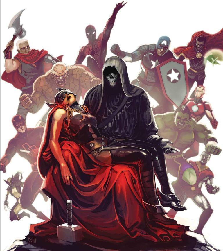 Mighty Thor #700 (Cover B Stephanie Hans Lenticular Homage Variant)