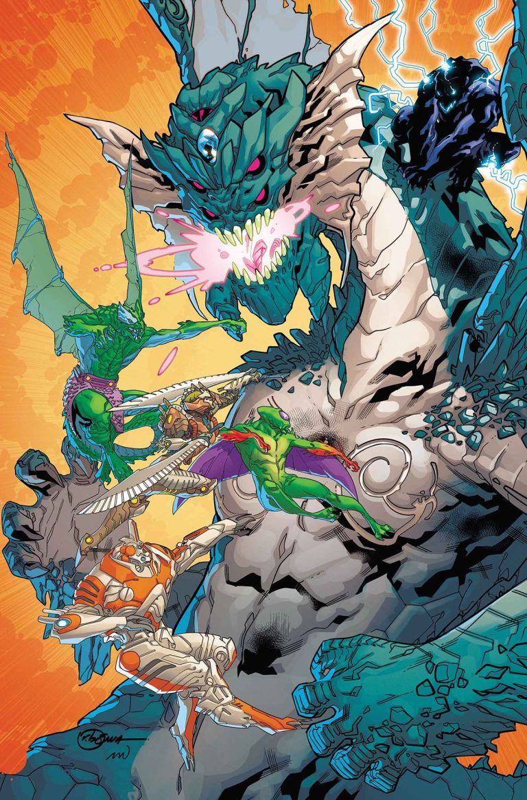 Monsters Unleashed #8 (R. B. Silva Cover)