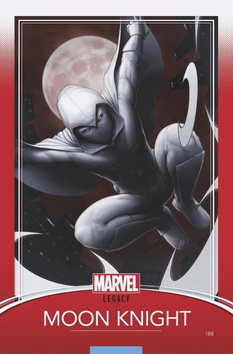 Moon Knight #188 (Cover E John Tyler Christopher Trading Card Variant)