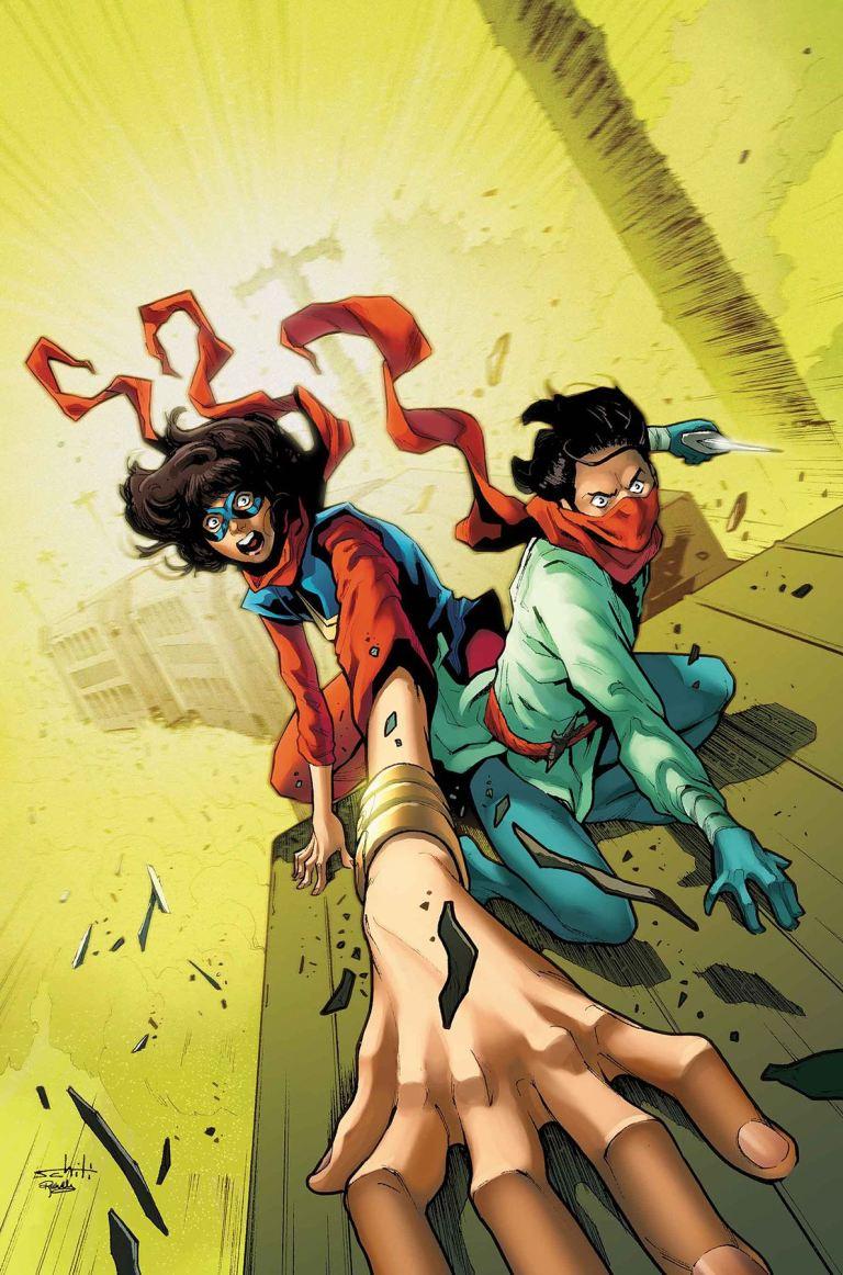 Ms. Marvel #23 (Valerio Schiti Cover)