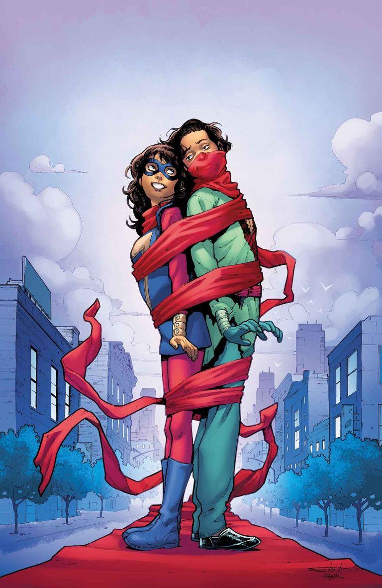Ms. Marvel #24 (Valerio Schiti Cover)