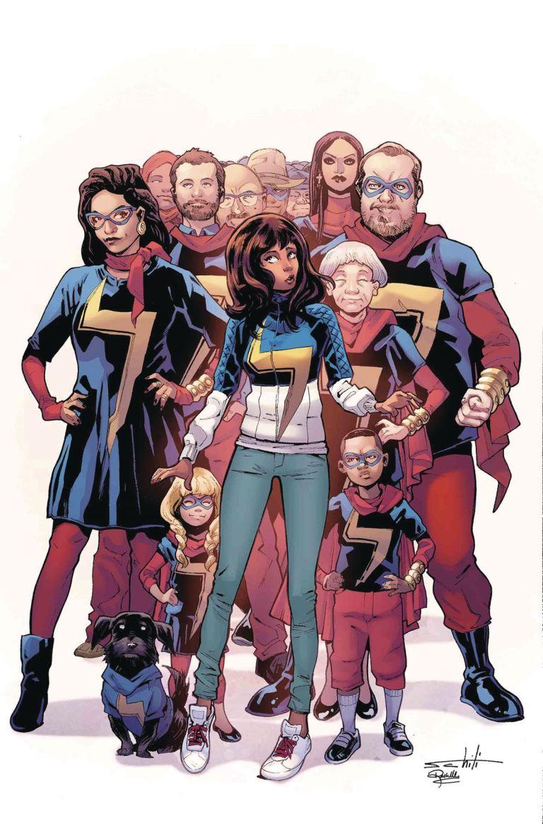 Ms. Marvel #25 (Cover A Valerio Schiti)