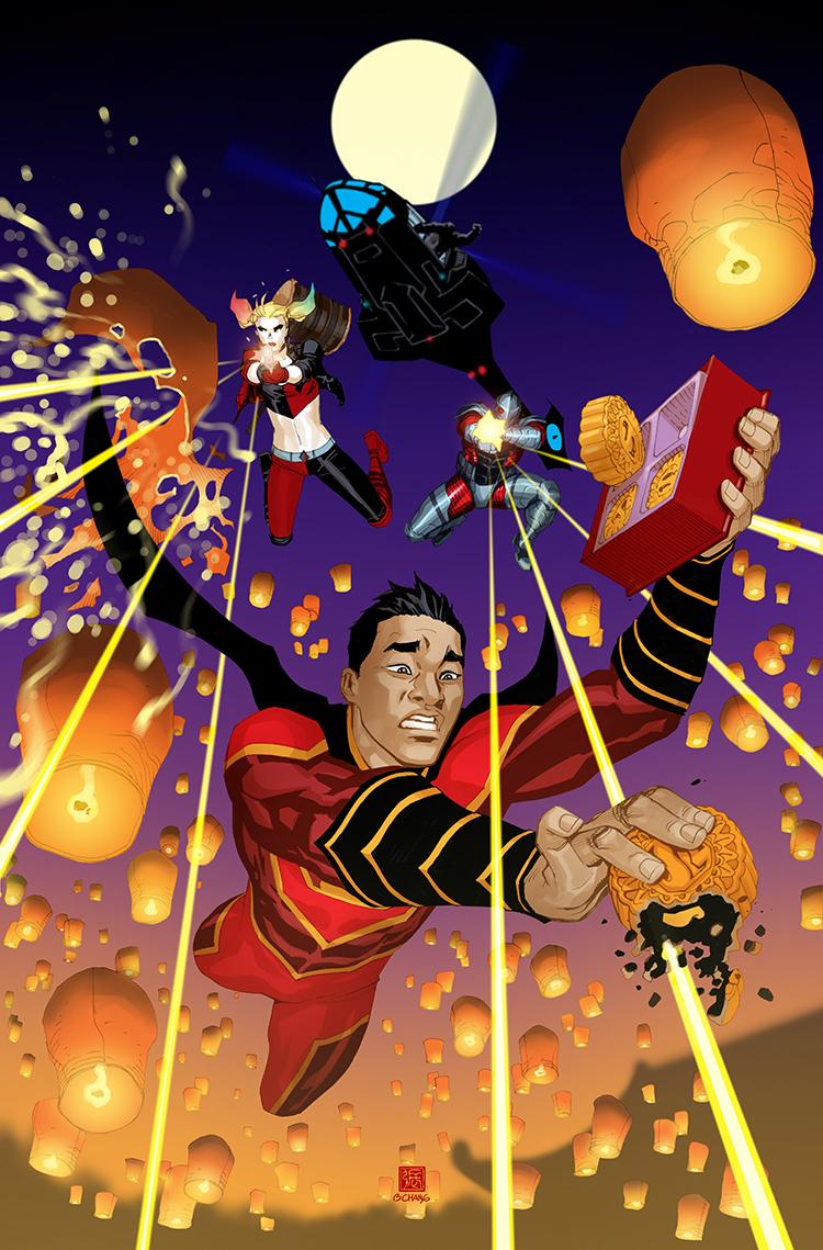 New Super-Man #16 (Cover B Bernard Chang)
