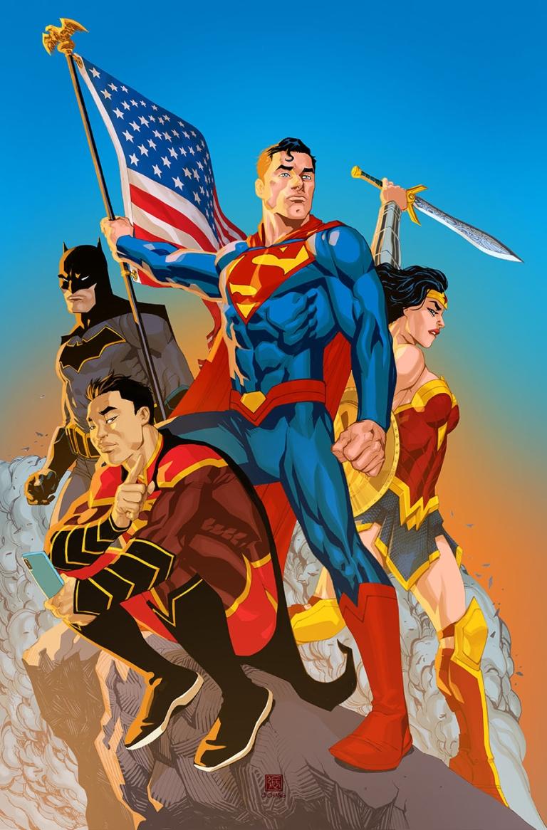 New Super-Man #17 (Cover B Bernard Chang)