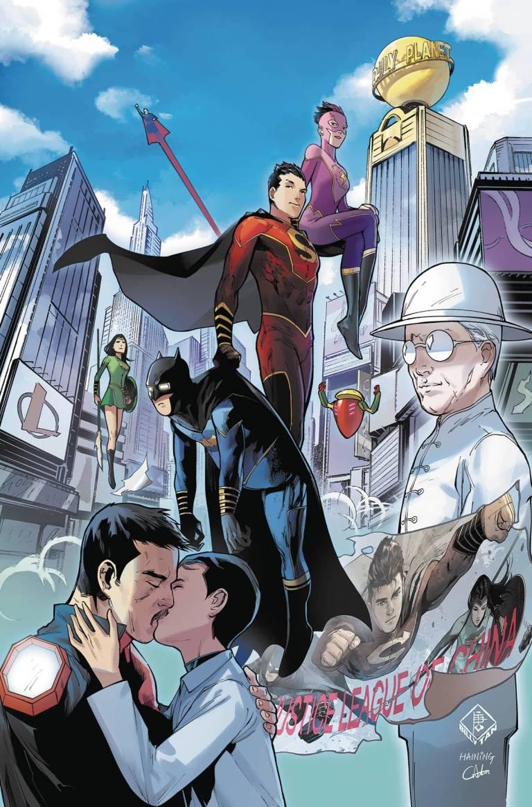 New Super-Man #18 (Cover A Philip Tan)