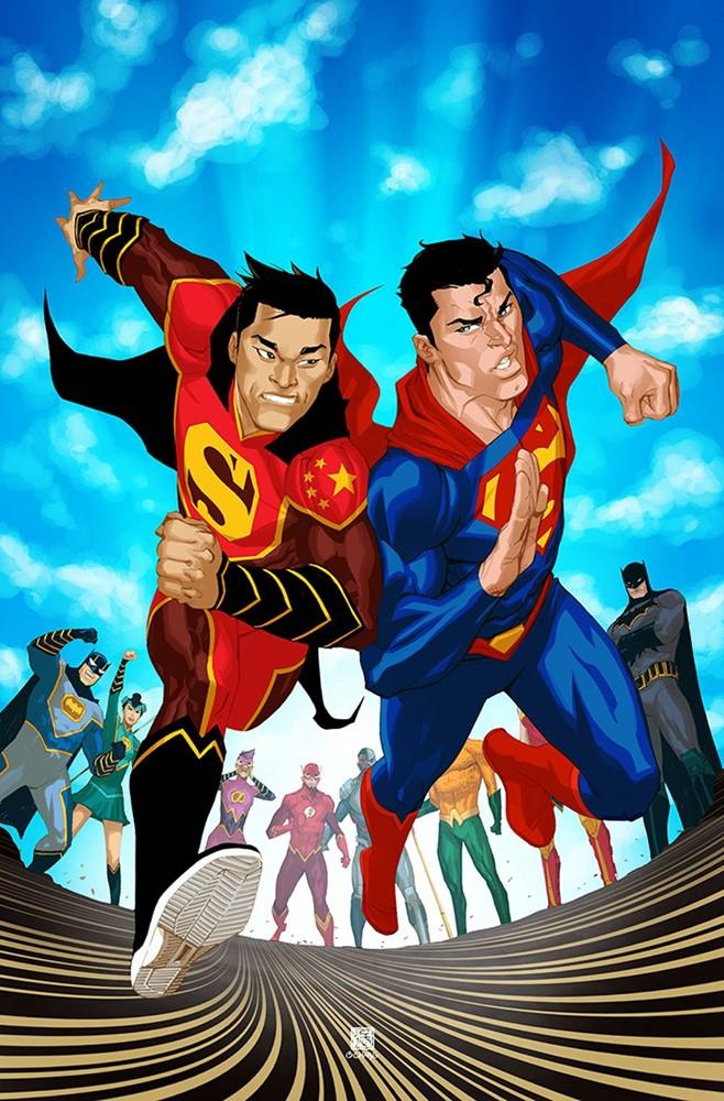 New Super-Man #18 (Cover B Bernard Chang)