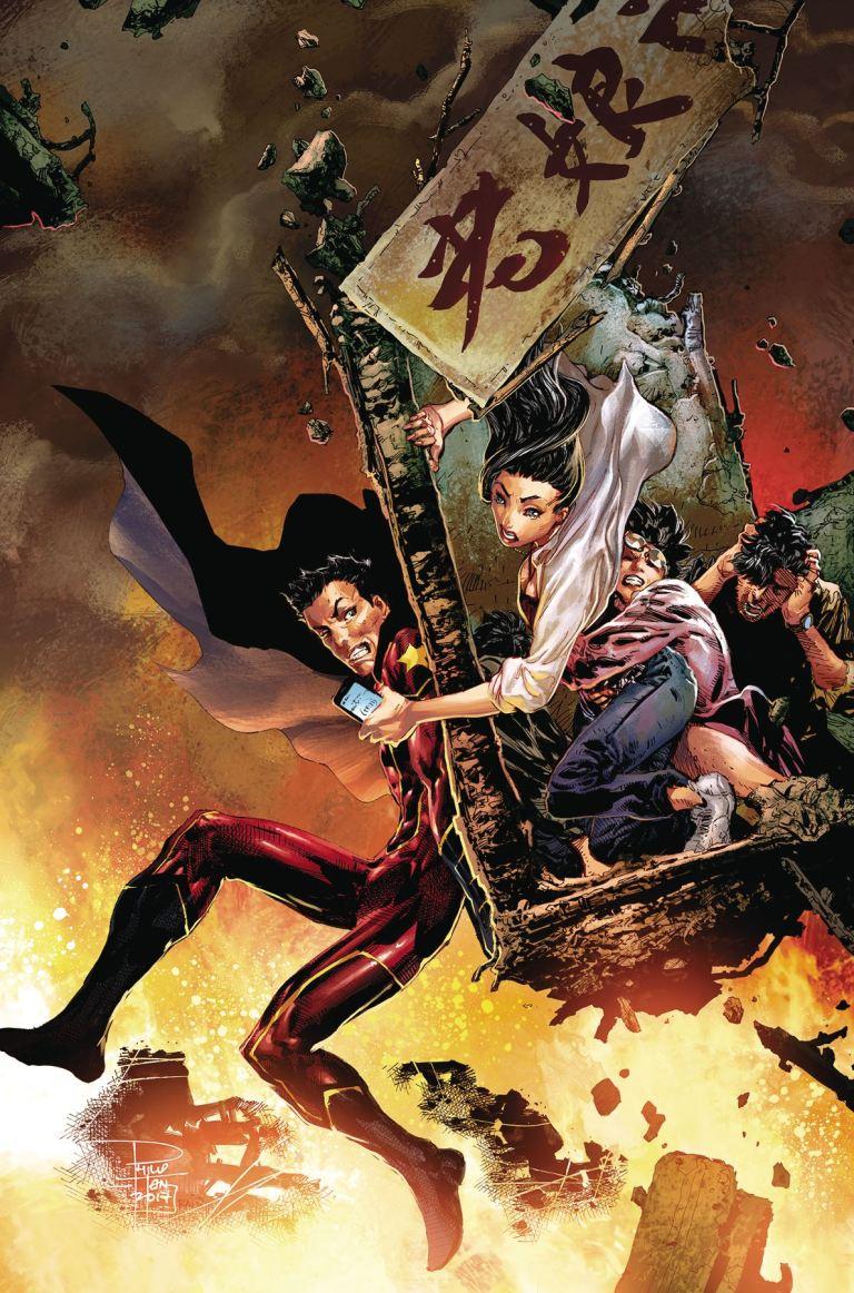 New Super-Man #19 (Cover A Philip Tan)