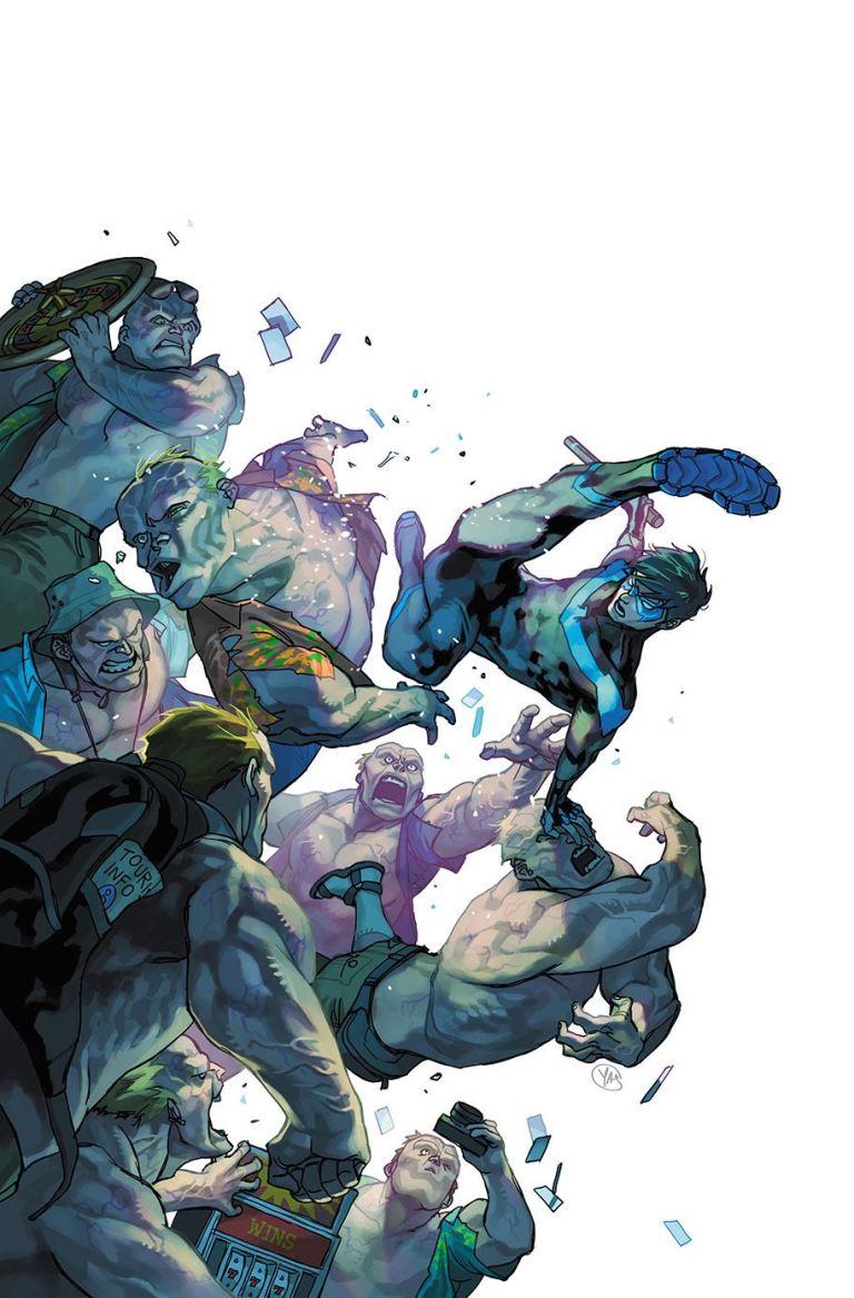 Nightwing #34 (Cover B Casey Jones)