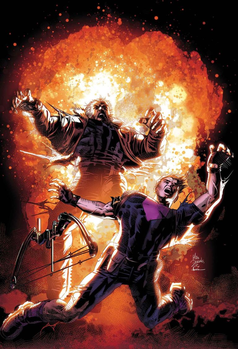 Old Man Logan #30 (Mike Deodato Jr. Cover)