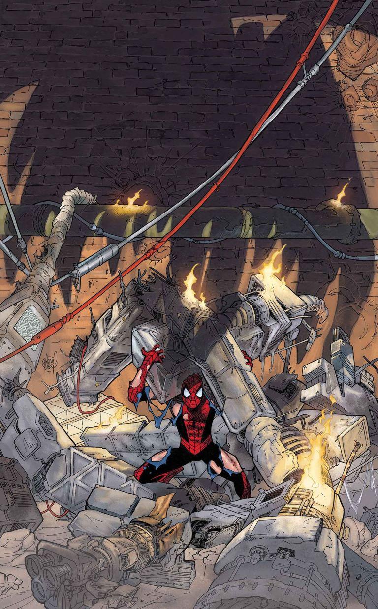 Peter Parker The Spectacular Spider-Man #5 (Adam Kubert Cover)