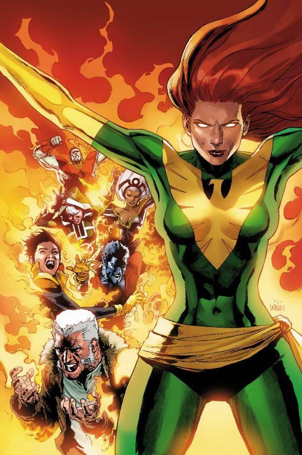 Phoenix Resurrection The Return Of Jean Grey #1 (Cover J Leinil Francis Yu Green Costume Variant)