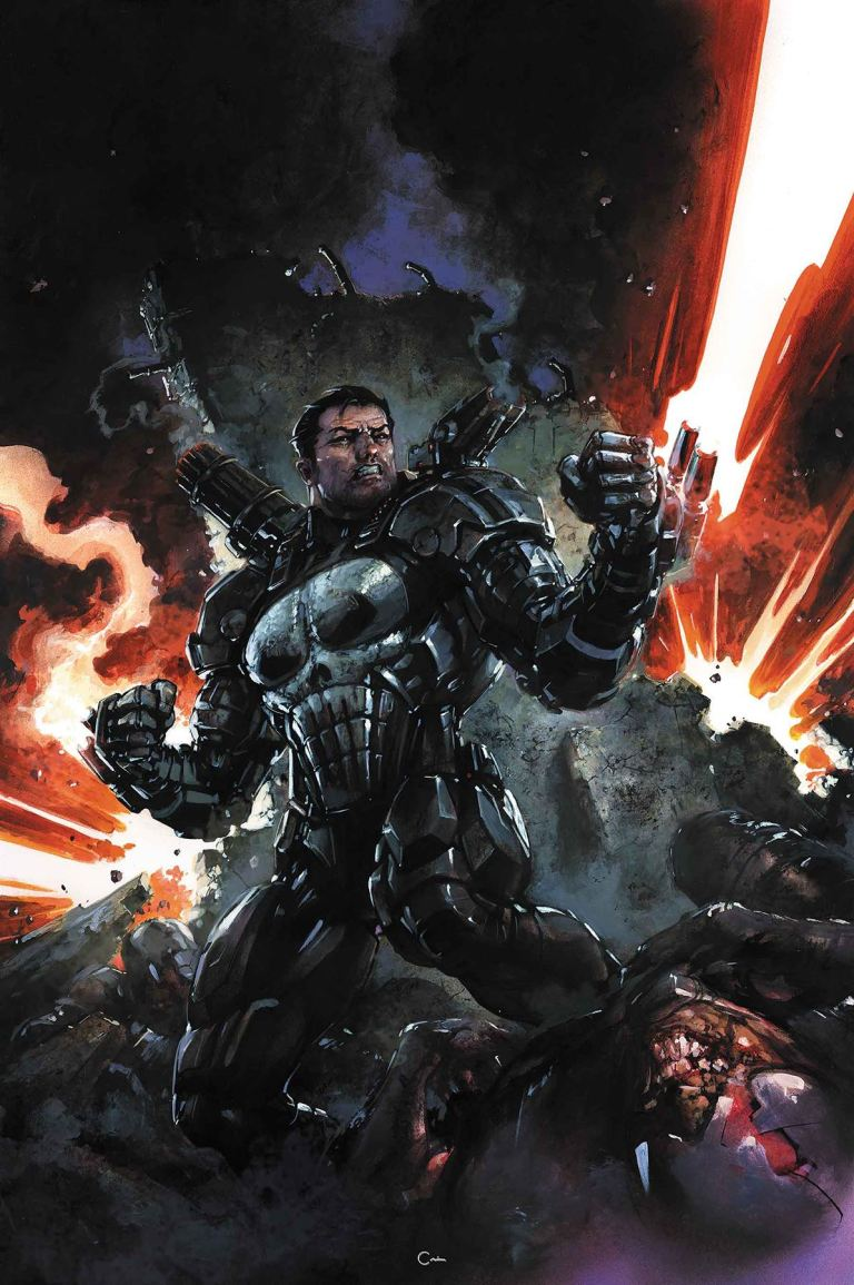 Punisher #218 (Cover A Clayton Crain)