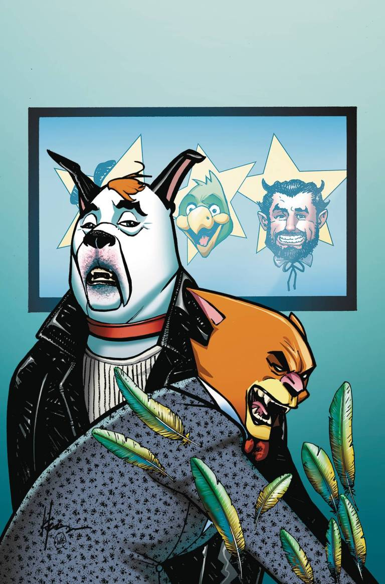 Ruff And Reddy Show #3 (Cover A Howard Chaykin)