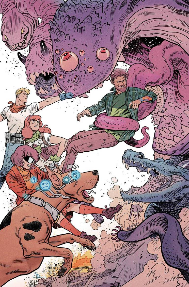 Scooby Apocalypse #19 (Cover B Evan Doc Shaner)