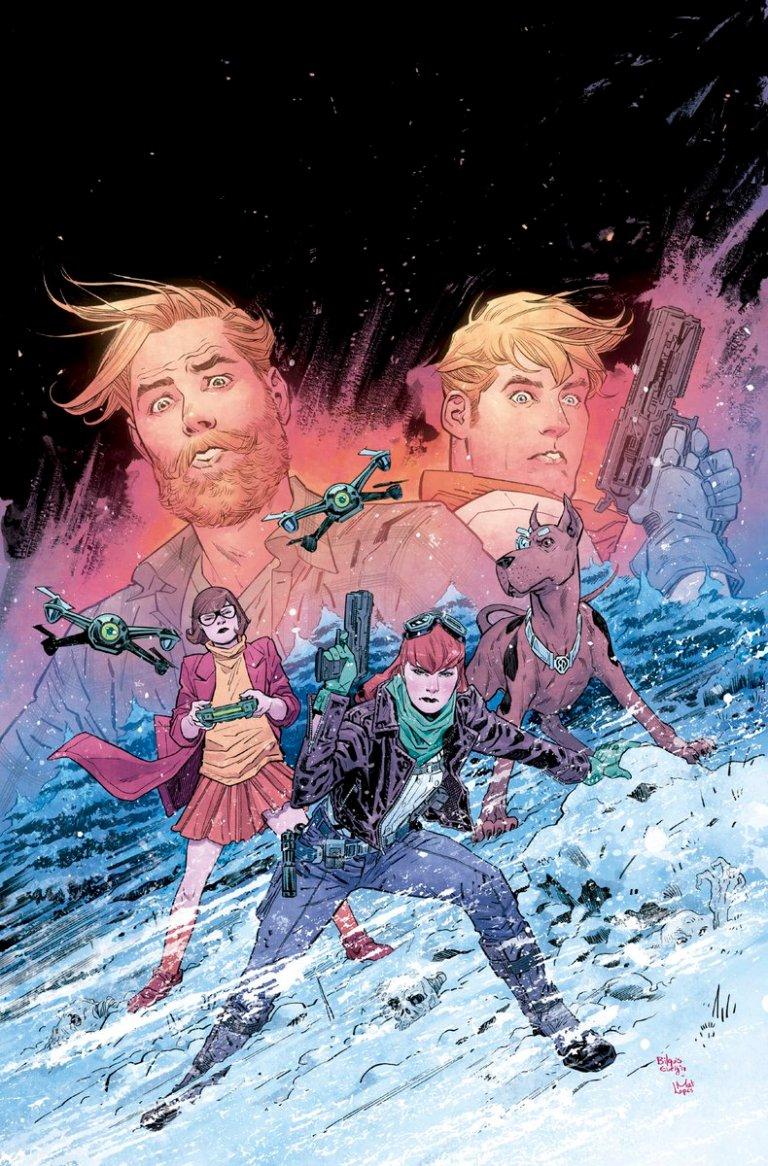 Scooby Apocalypse #20 (Cover B Bilquis Evely)