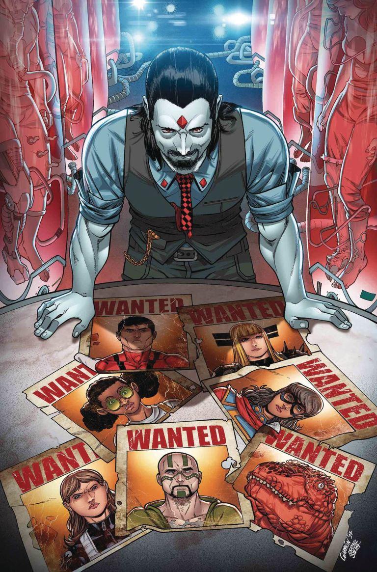 Secret Warriors #10 (Javier Garron Cover)