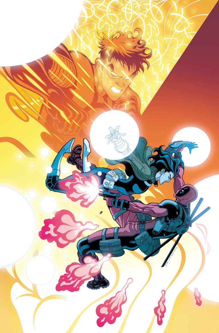 Secret Warriors #7 (Tradd Moore Cover)