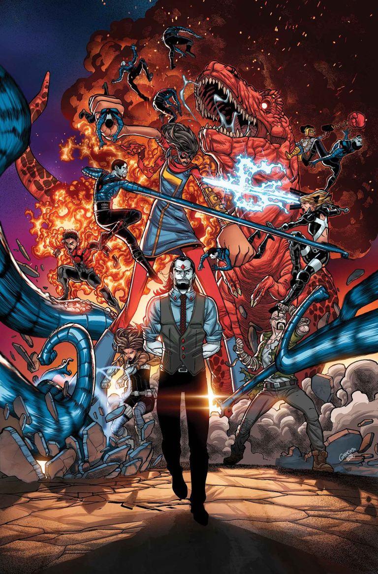 Secret Warriors #8 (Cover A Javier Garron)
