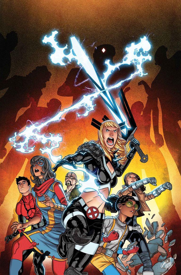 Secret Warriors #9 (Javier Garron Cover)