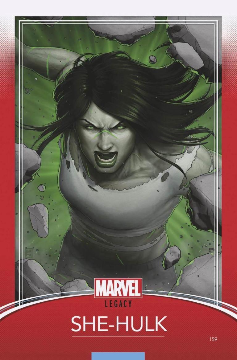 She-Hulk #159 (Cover D John Tyler Christopher Trading Card Variant)