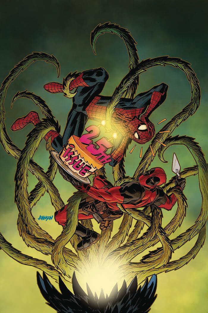 Spider-Man Deadpool #25 (Dave Johnson Cover)