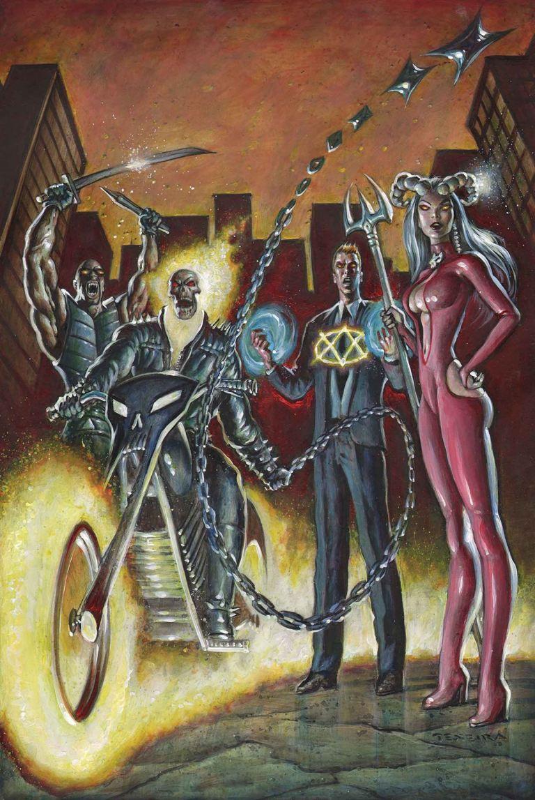 Spirits Of Vengeance #1 (Cover E Mark Texeira)