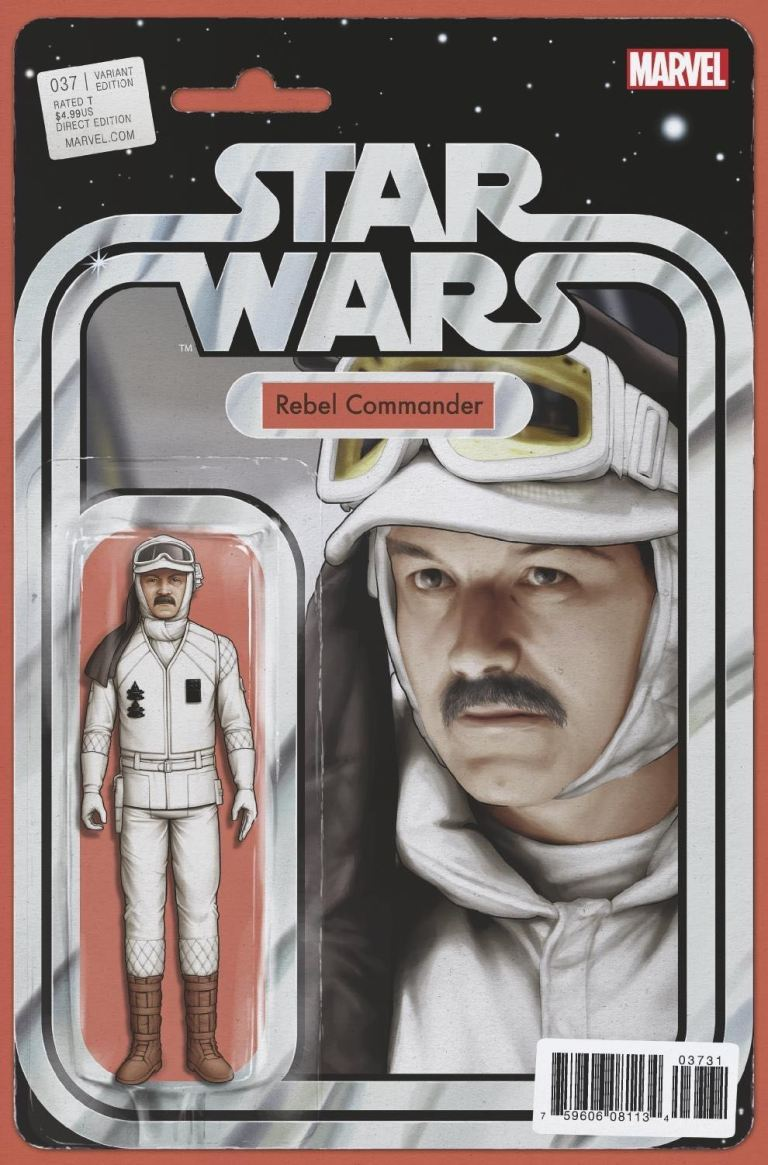 Star Wars #37 (Cover B John Tyler Christopher Action Figure Variant)
