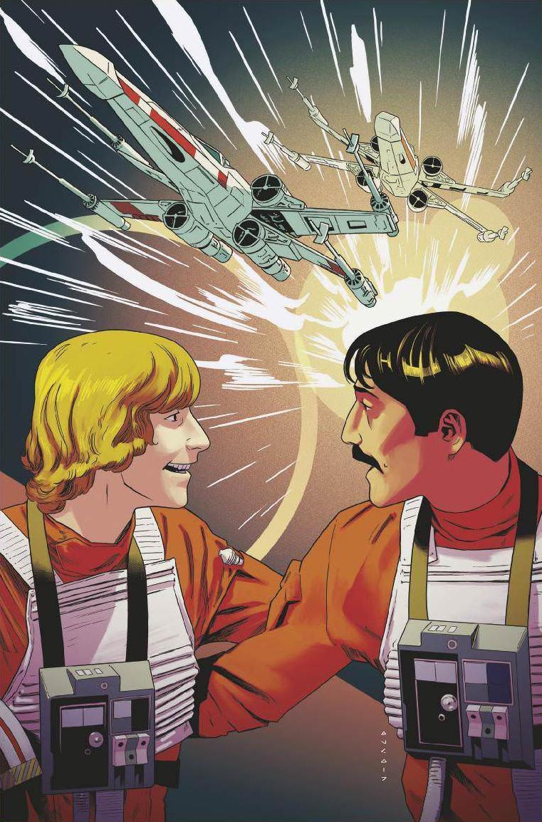 Star Wars #38 (Cover E Kris Anka Star Wars 40th Anniversary Variant)