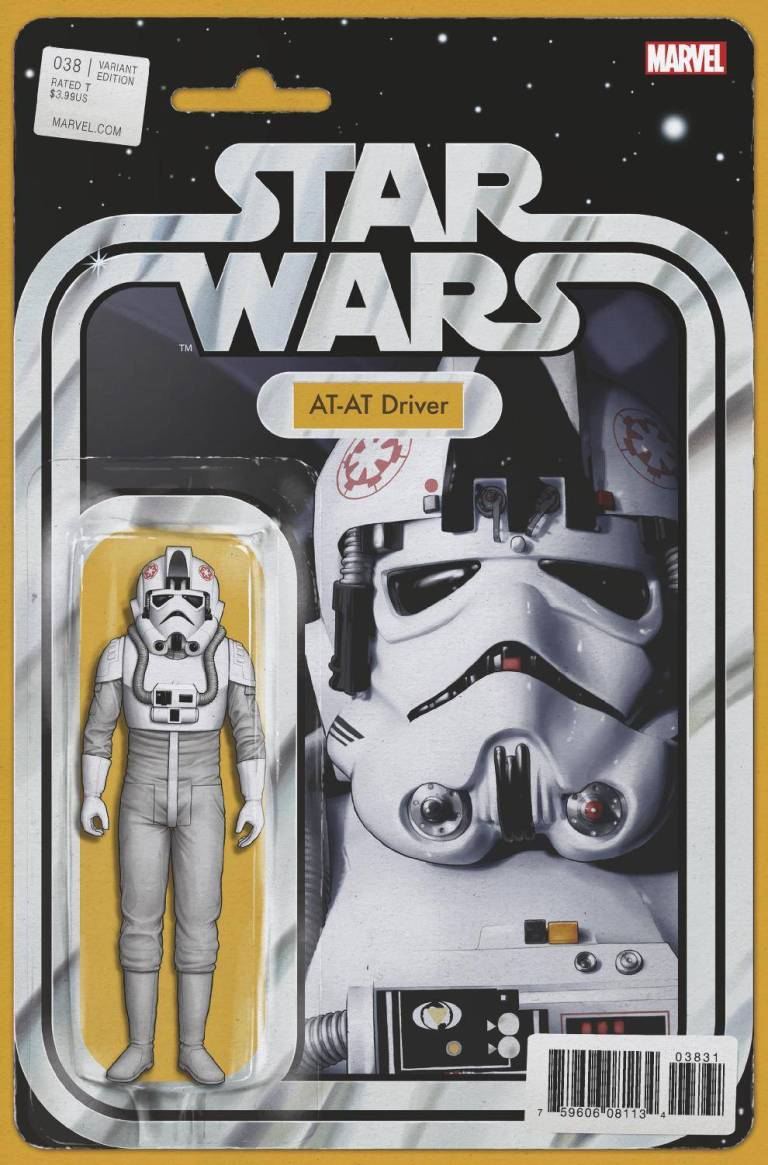 Star Wars #38 (Cover F John Tyler Christopher Action Figure Variant)
